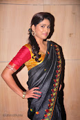 Actress Maneesha Photos in Saree-thumbnail-10
