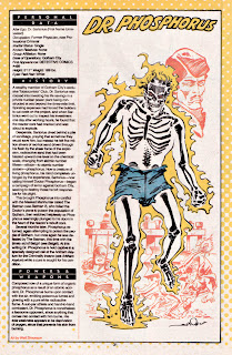 Doctor Fosforo (ficha dc comics)