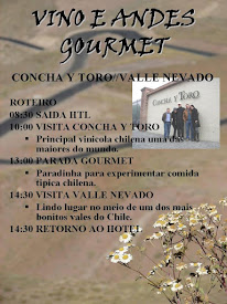 GOURMET.- VINHO E ANDES!!!