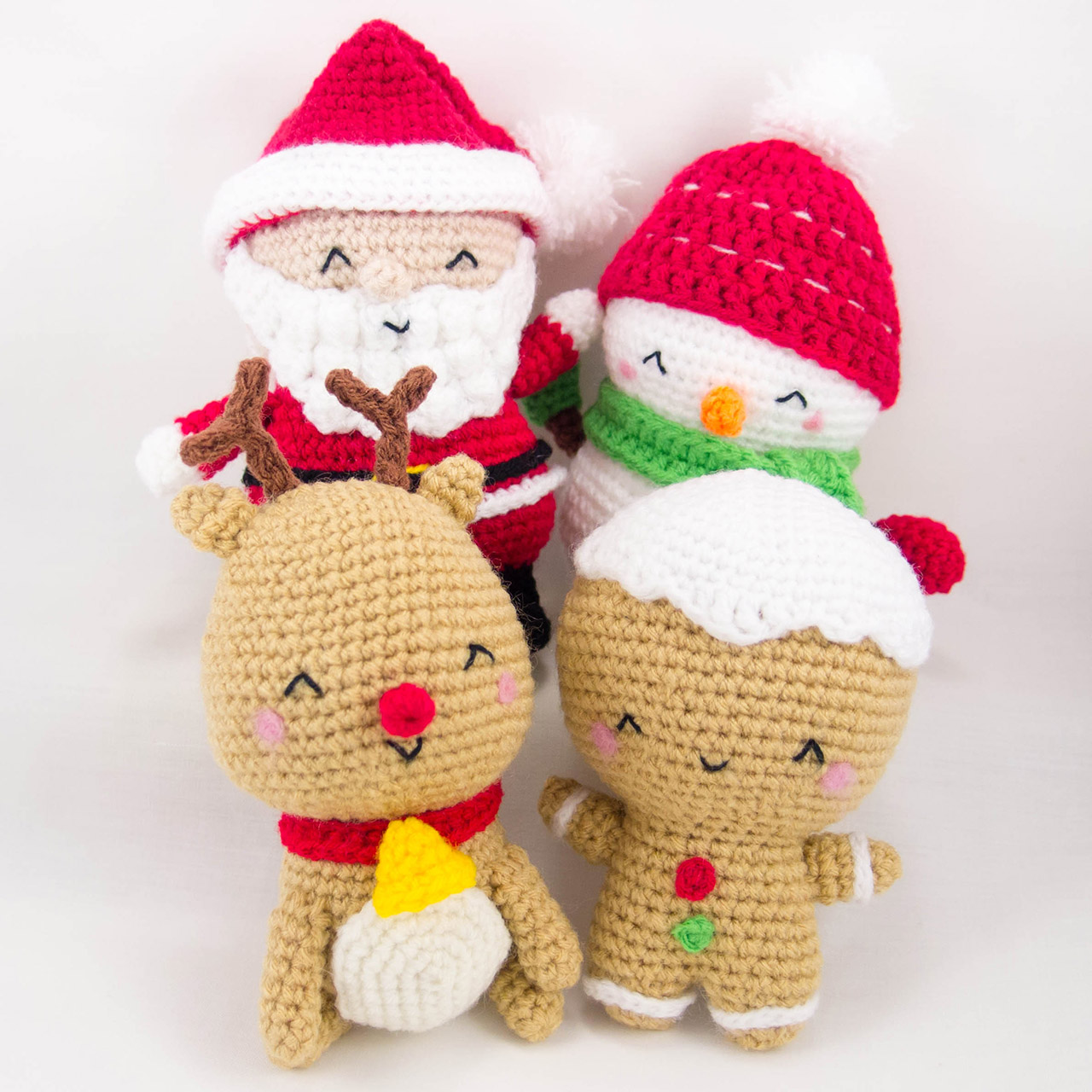Amigurumi Santa Patterns : Christmas Set Patterns ~ Snacksies Handicraft Corner