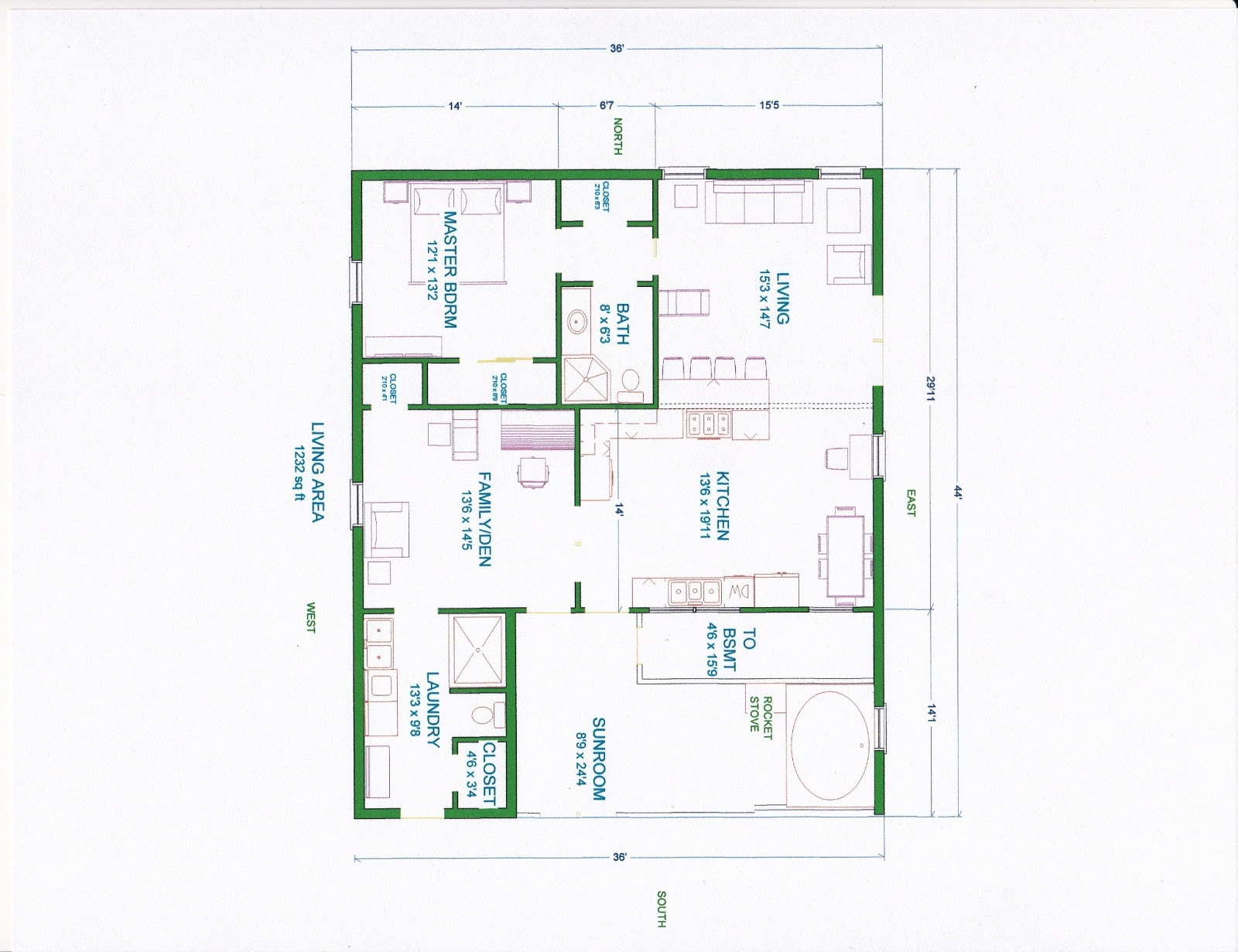 16 genius small solar home plans house plans 33134 for Solar floor plans