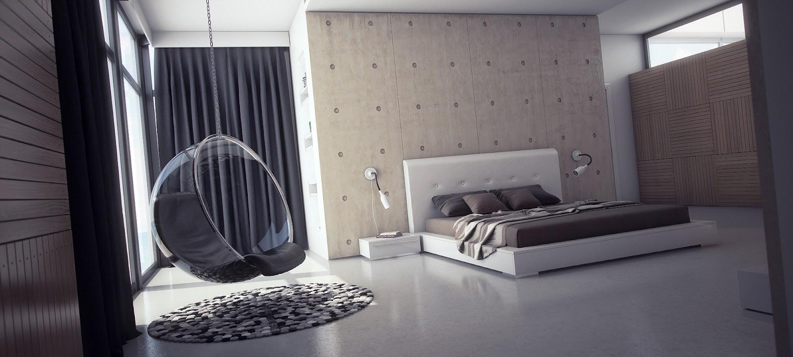 Дизайн спален минимализм