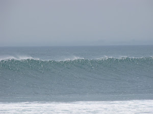 חוף אימפסיבולס...היה ים חזק מהיר וגבוה