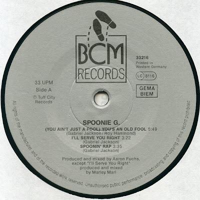 Spoonie Gee – Old And New Jams (Vinyl) (1989) (VBR)