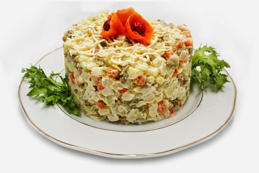 столичный Почему назвали салат