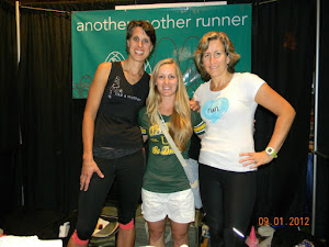 With the gals from Another Mother Runner!