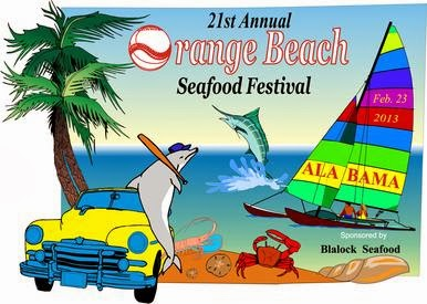 Orange Beach Alabama Seafood Festival and Car Show