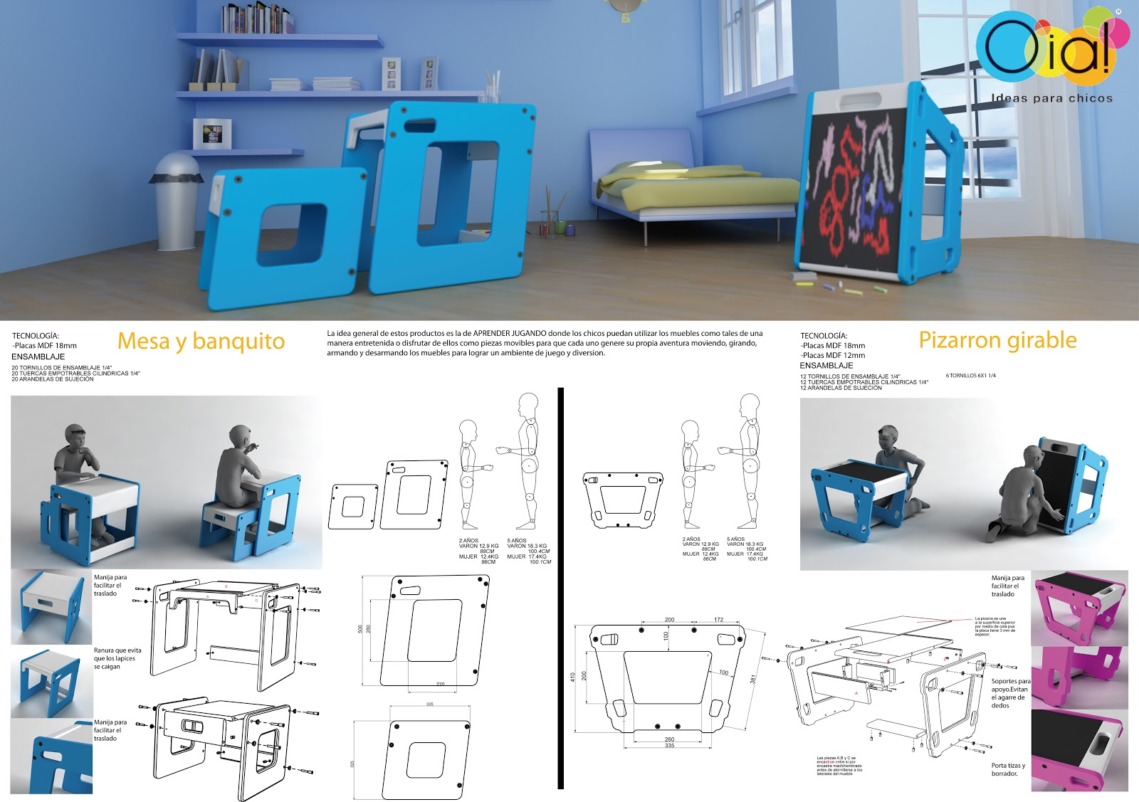 Dise o industrial up industrial design noviembre 2012 for Muebles de diseno industrial