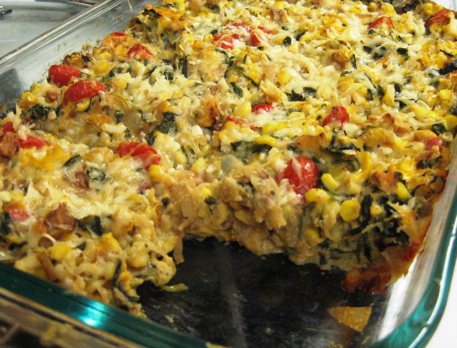 Debbi Does Dinner... Healthy & Low Calorie: Spaghetti Squash Gratin