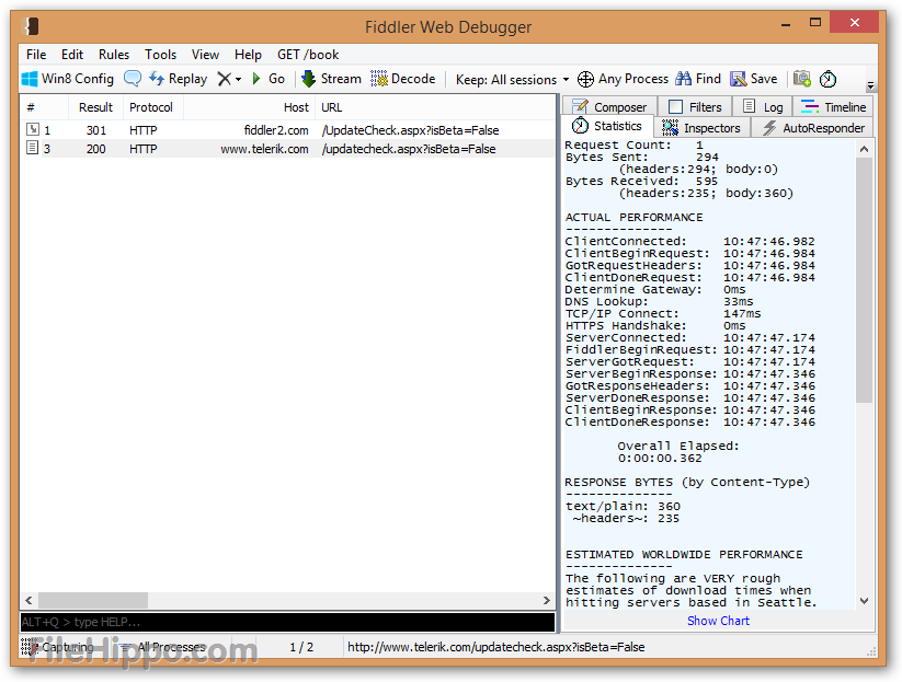Download Fiddler Web Debugging Tool for Free by Telerik