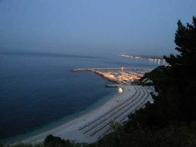 porto di Numana by night
