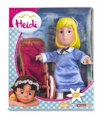 TOYS : JUGUETES - HEIDI - Clara | Muñeca 17 cm  Producto Oficial Serie Television 2015 | Famosa 700012540  A partir de 2 años | Comprar en Amazon España