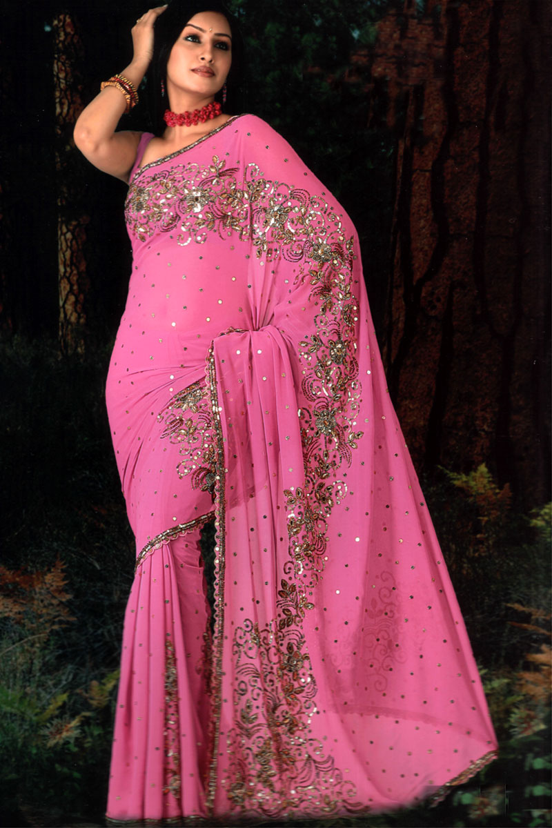 1000  images about Pink Sari on Pinterest | Beautiful, Receptions ...