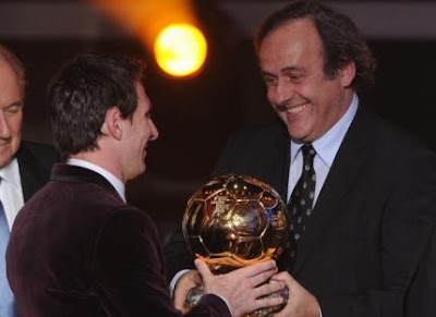 Platini aseguró que Messi ganará su cuarto Balón de Oro