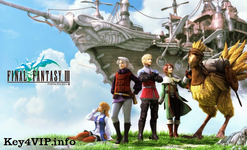 Final Fantasy III – RELOADED [JRPG | 2014] Full [PC Games]