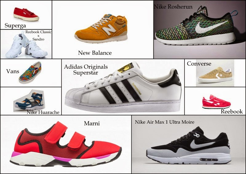 A dream called fashion : SS15 trend report: sneakers to have!
