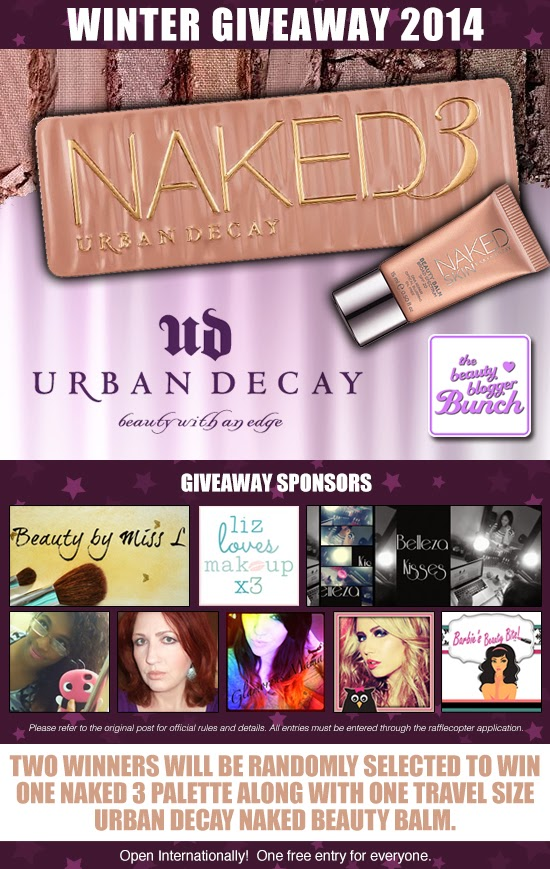Win Urban Decay Naked 3 palette