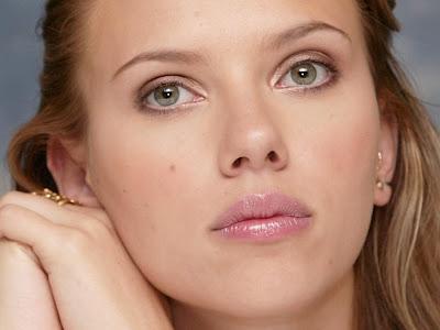 Scarlett Johansson HD beautiful face Wallpaper