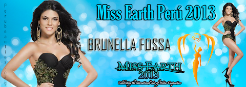 Brunella Fossa es  Miss Earth Perú 2013