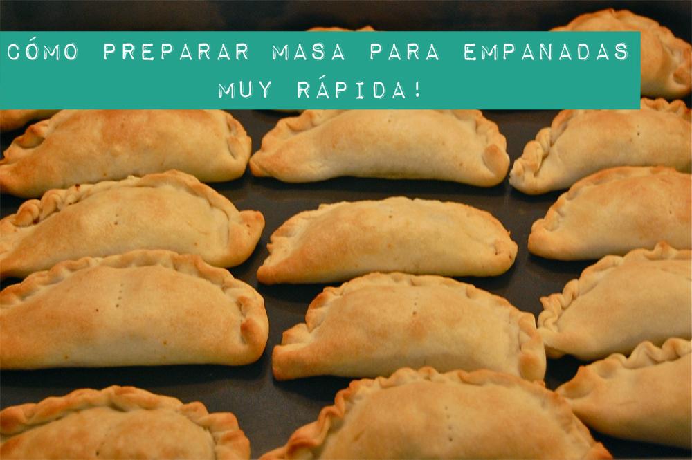 como hacer empanadas argentinas horneadas
