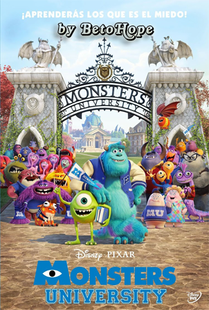 Monsters University [1080p] [Latino-Ingles] [MEGA]