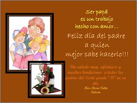 Un feliz día del Padre.....