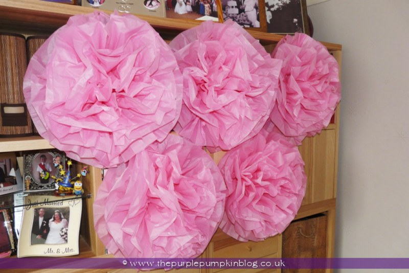 Pink baby shower table decor photograph also made a giant for Baby shower wall mural