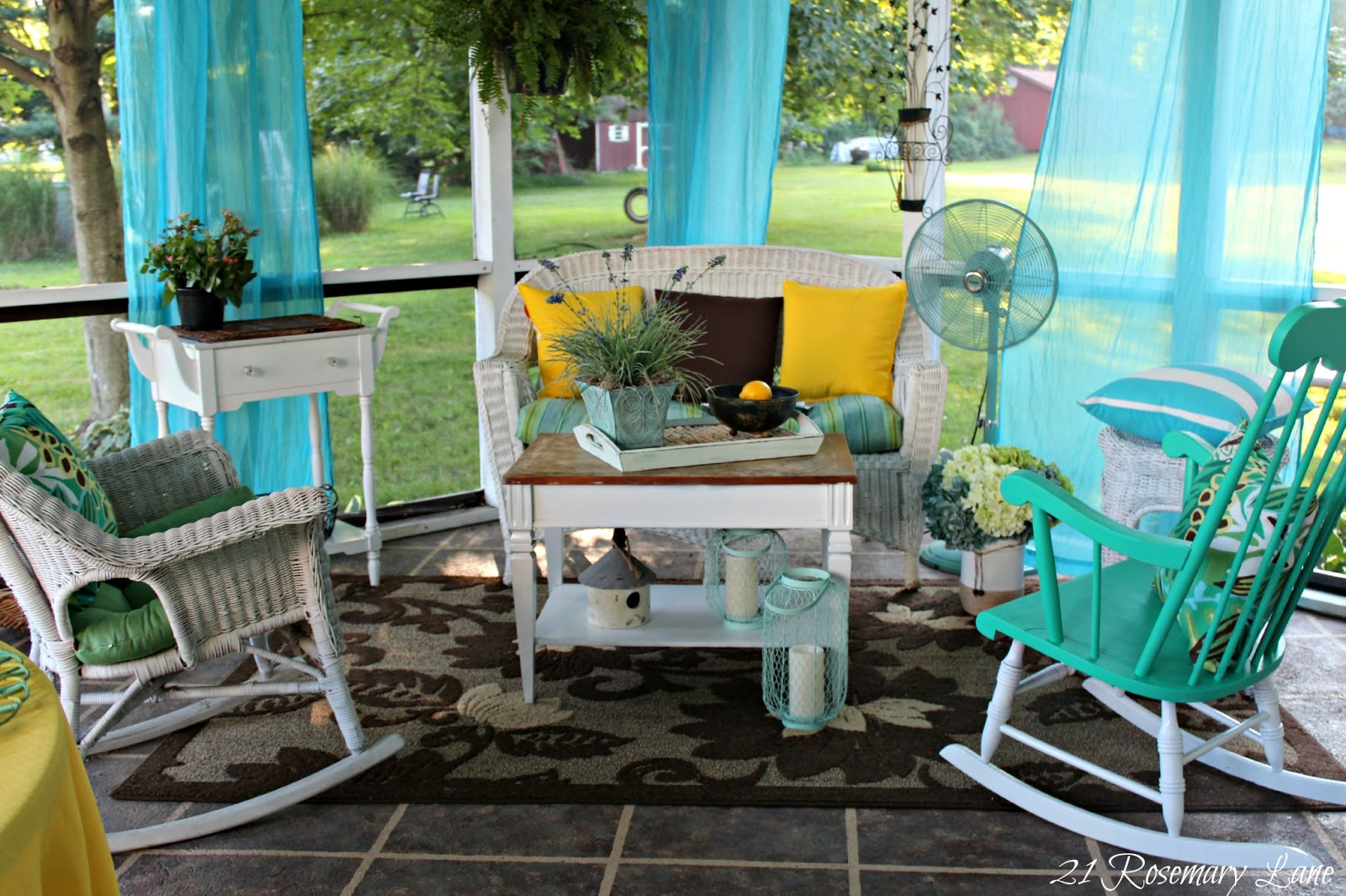 $5 Worth Of Furniture And A Back Patio Reveal