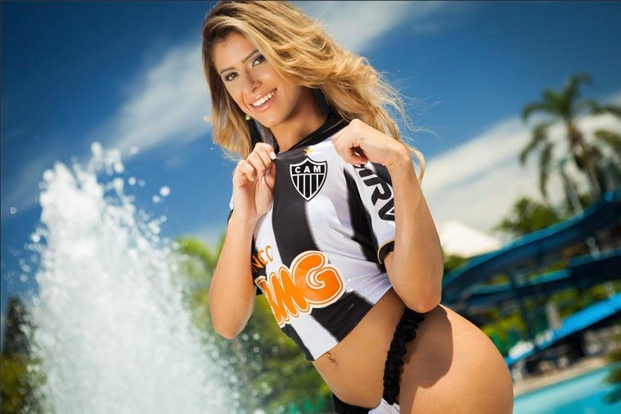 Musa do Atlético-MG - Natália Carvalho