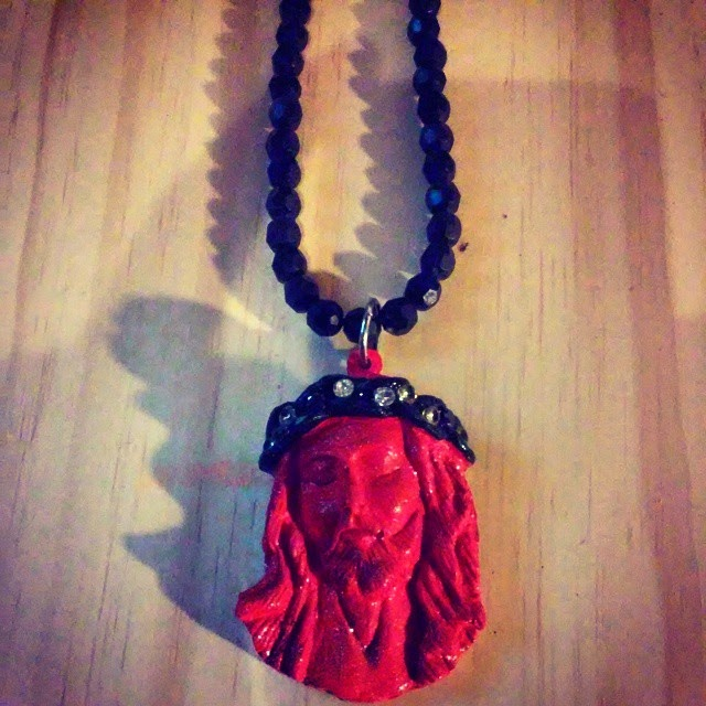RED JESUS PIECE