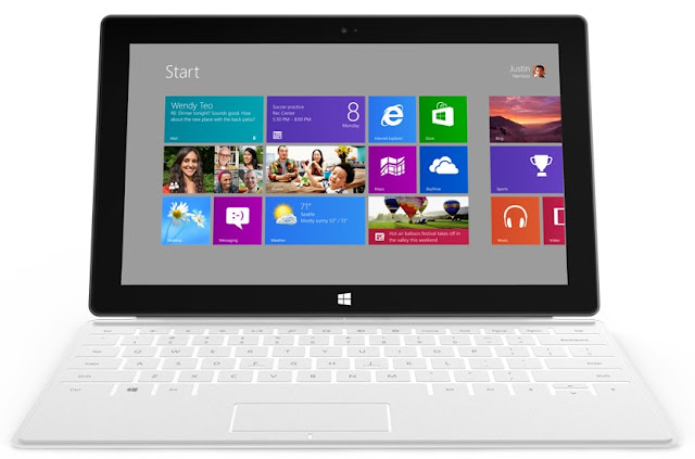 Windows 8 Surface tablet PC