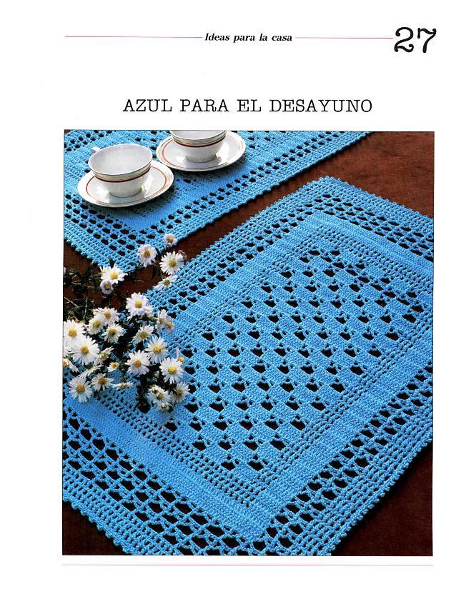 Lujoso Patrones Tapetitos Libres Hilo Crochet Patrón - Ideas de ...
