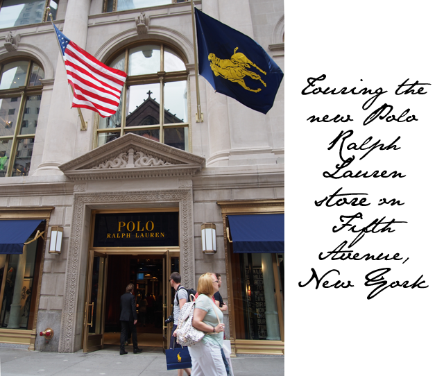 Polo Ralph Lauren store fifth avenue