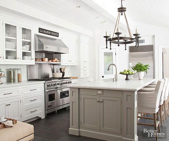Beautiful and neutral kitchen designs part 2 south for Kitchen colors with white cabinets with papiers transfert
