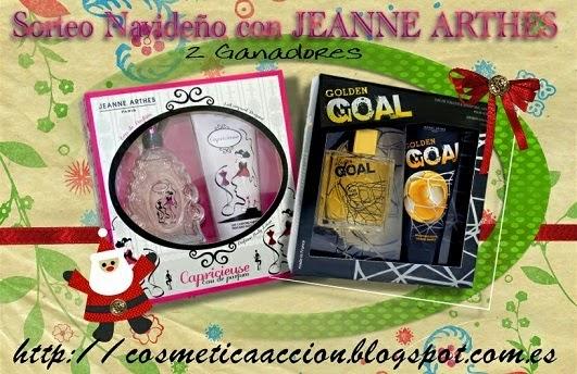 Sorteo navideño jeanne arthes 2 ganadores
