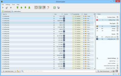 برنامج جي داونلودر JDownloader 0.9.581