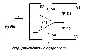 What is PRECISION HALF WAVE AND FULL WAVE RECTIFIERS My Circuits 9