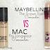 Maybelline The Eraser Eye VS MAC Pro Longwear Concealer Dupe/Comparison & Photo's