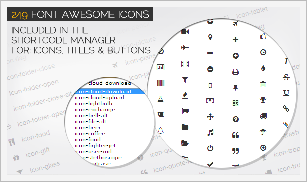 Percantik Blog Dengan Font Awesome Icons
