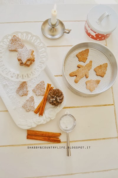 Christmas Cookies [ i miei biscotti cannella & cioccolato ] #raccoltacookies - shabby&countrylife.blogspot.it