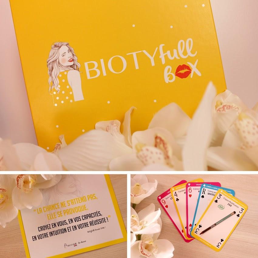 Biotyfull Box de janvier 2016 la chance
