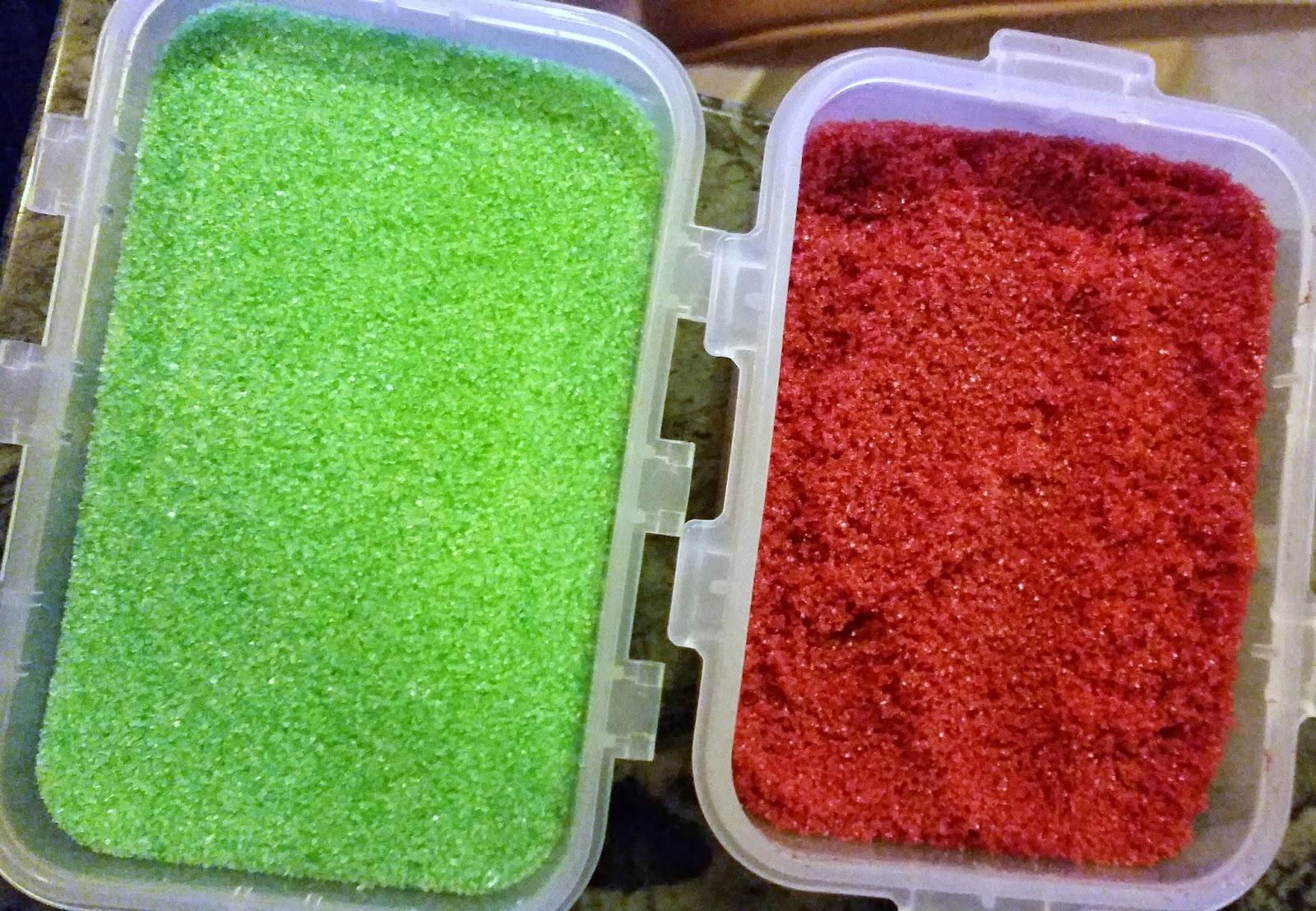 Sandy\'s Kitchendreams: Zucker färben
