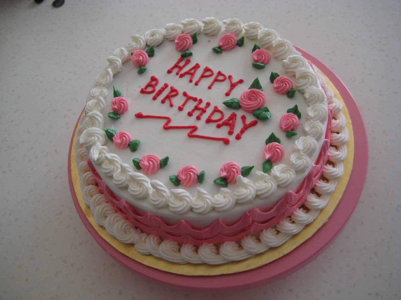 Easy Birthday Cake Images : SIMPLE BIRTHDAY CAKE Nin s Kek Kecik