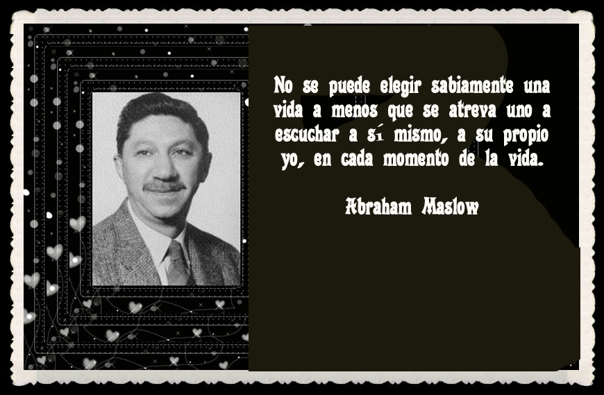 abraham maslow and adult education Education has adopted its view of moral and intellectual development from dr maslow, an atheist who argued his views shouldn't be applied to children the results are exactly what he predicted: our children are being exploited both economically, by tobacco and beer companies, and sexually by the playboy mentality.