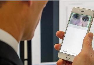 Eye scan unlock