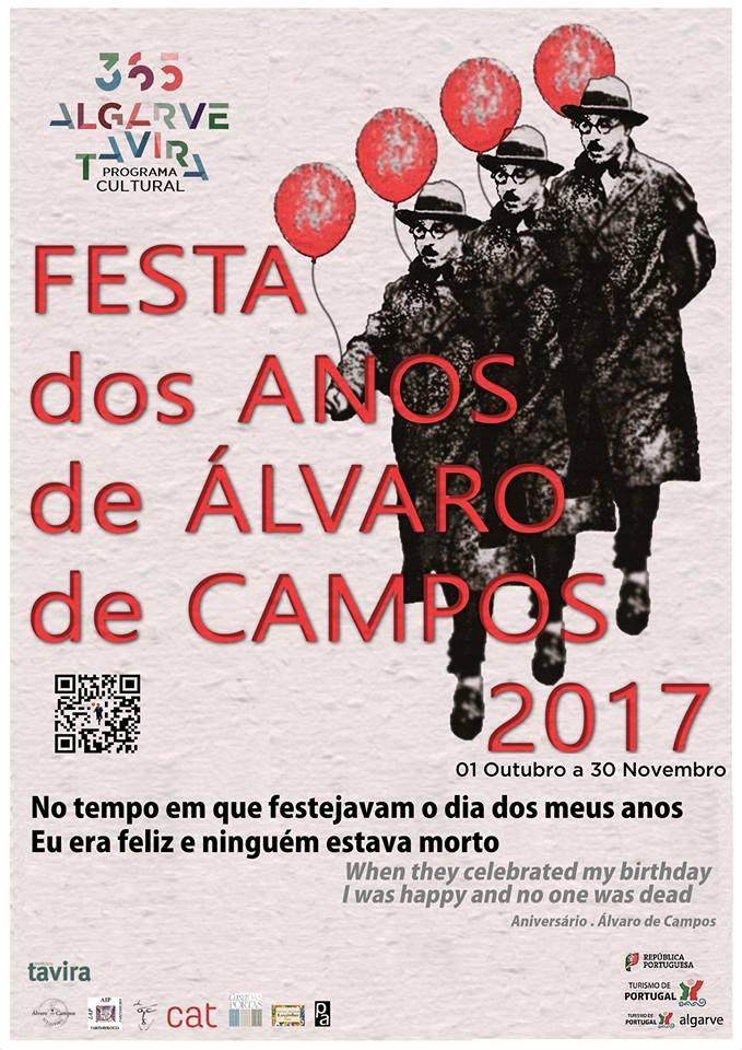FESTA DOS ANOS DE ÁLVARO DE CAMPOS