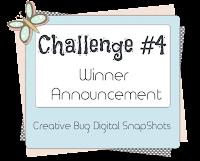 Challenge #4 Winners
