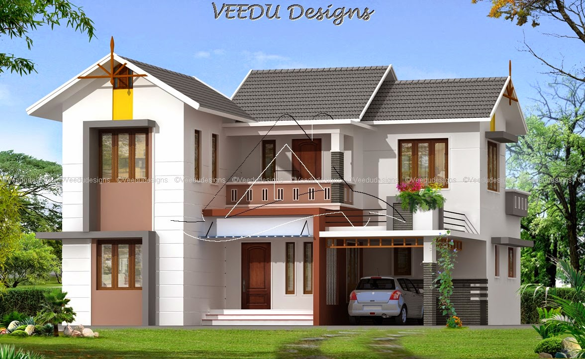 34 for New home designs kerala