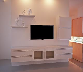 model desain rak tv