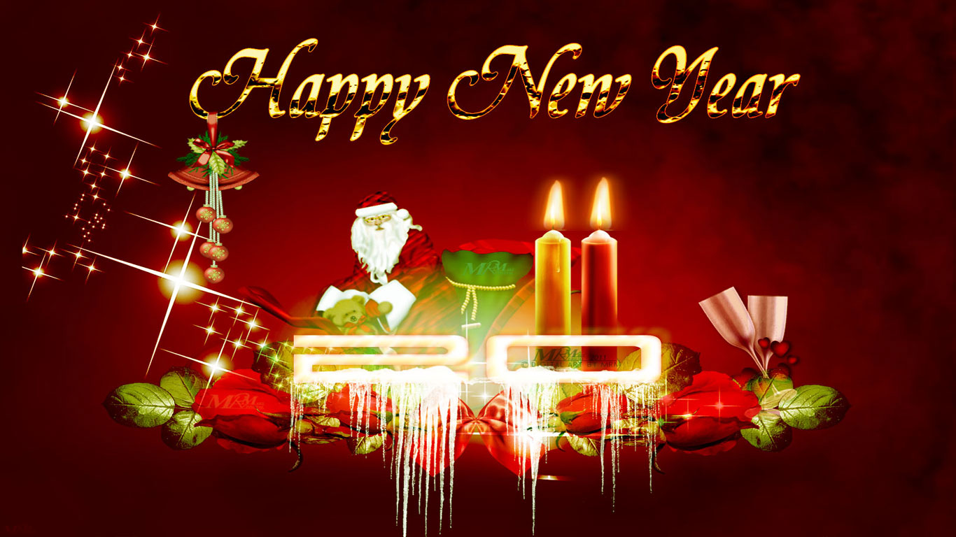 Free Happy New Year Wallpapers 2014- High Resolution Wallpaper